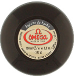Omega shaving soap cup with eucalyptus oil 150ml